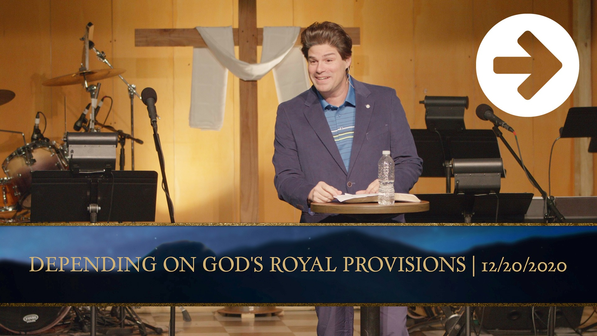 Depending On God's Royal Provisions Image