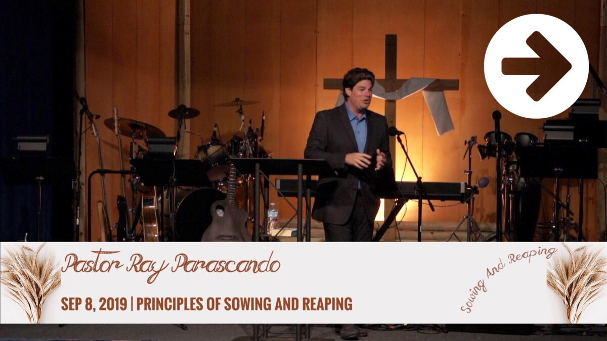Principles Of Sowing And Reaping