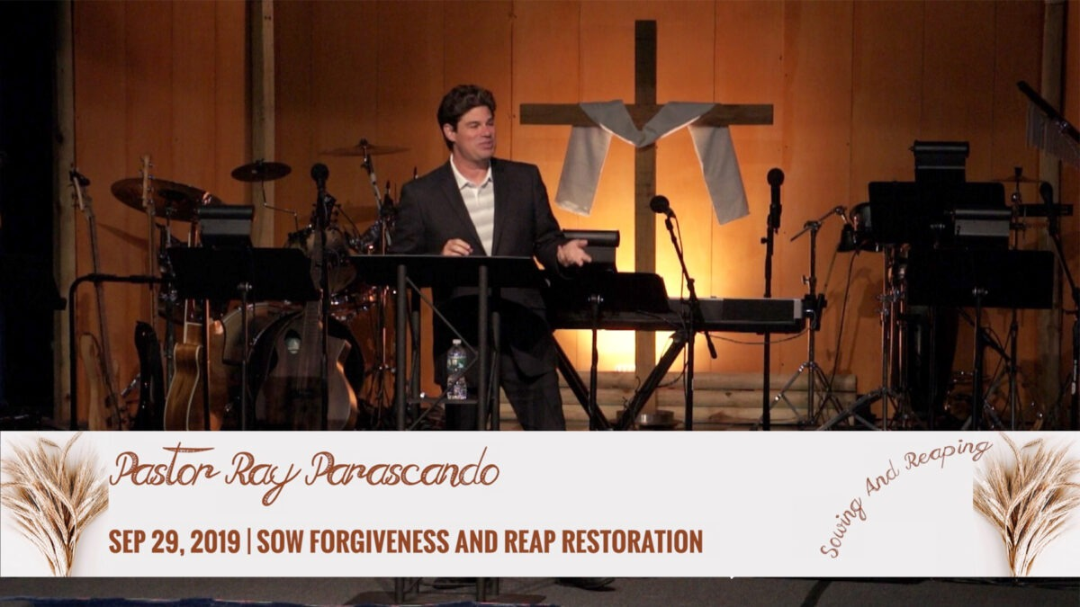 Sow Forgiveness And Reap Restoration Image