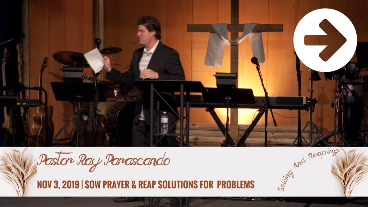 Sow Prayer And Reap Solutions For Problems Image