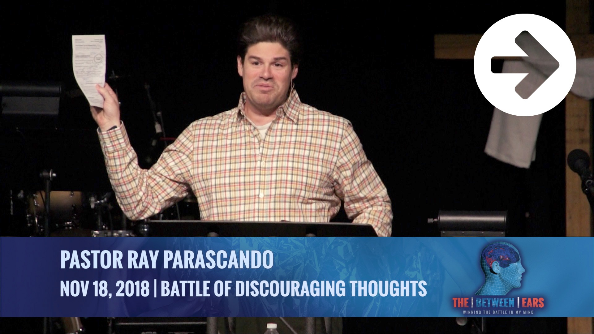 Battle Of Discouraging Thoughts Image