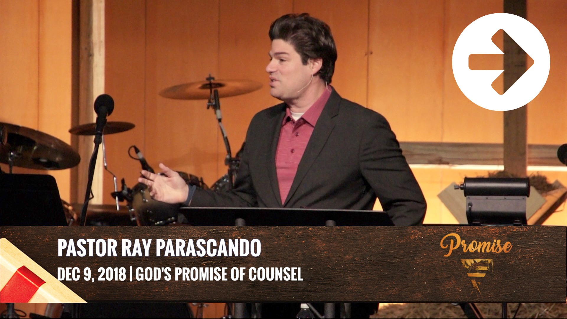 God's Promise Of Counsel Image
