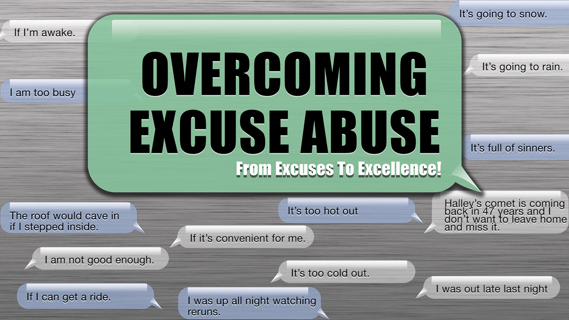 The Limitation Excuse Image